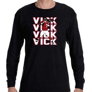 Atlanta Falcons Mike Vick Long Sleeve Shirt
